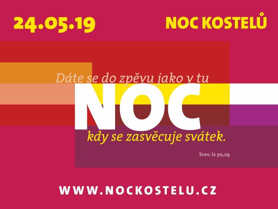 Výsledek obrázku pro noc kostelů 2019 logo